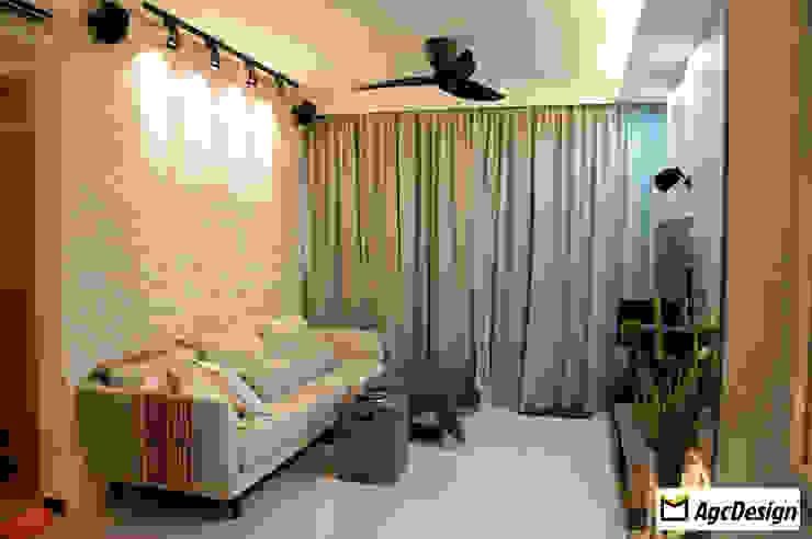 Prive EC Scandinavian style living room by AgcDesign Scandinavian