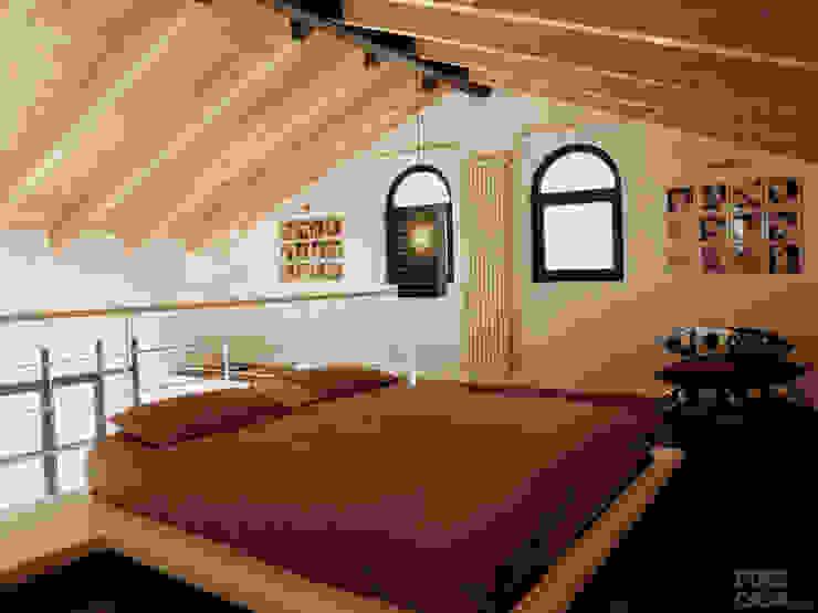 DELFINETTIDESIGN Спальня Дерево Білий