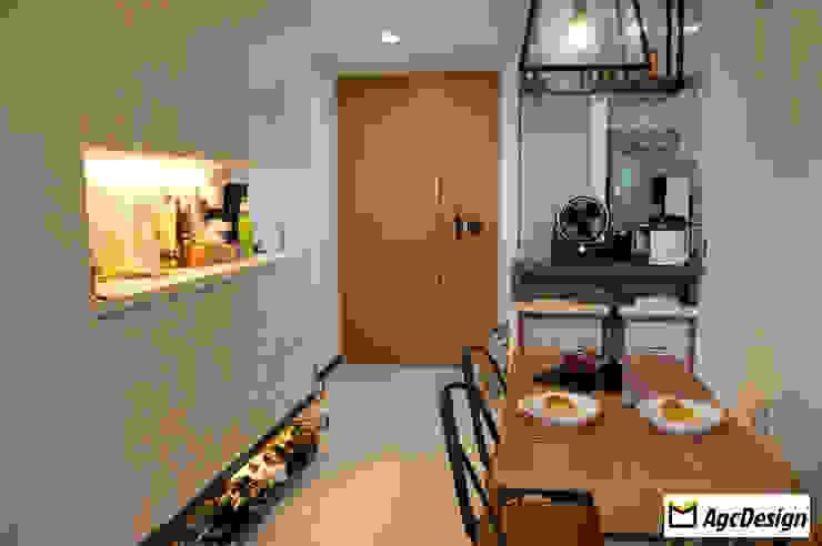 Prive EC Scandinavian style dining room by AgcDesign Scandinavian