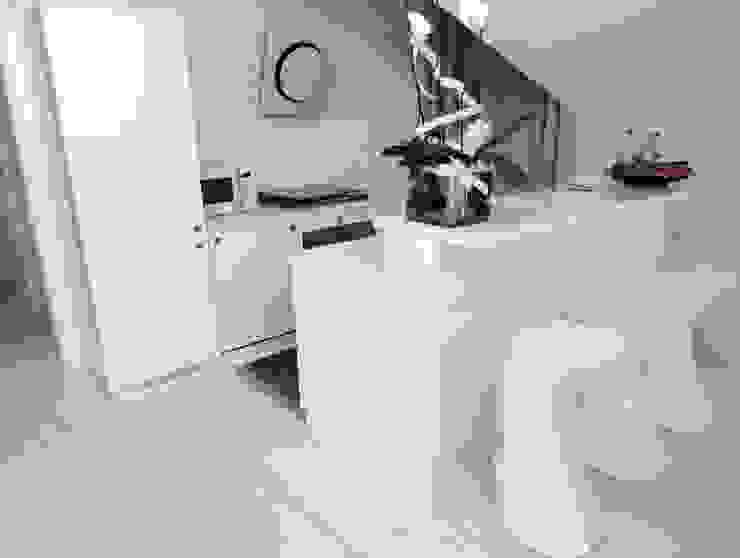 DELFINETTIDESIGN Muebles de cocinas Madera Blanco