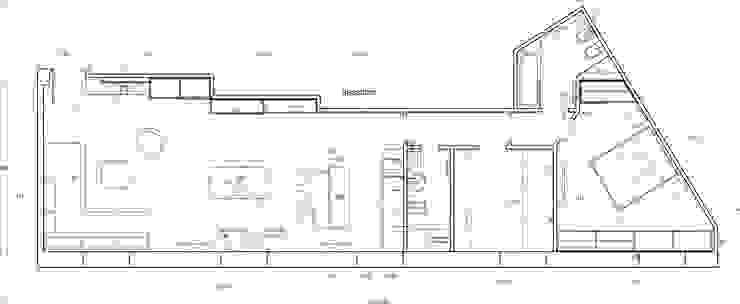 Planimetria progetto DELFINETTIDESIGN Pavimento Legno Effetto legno