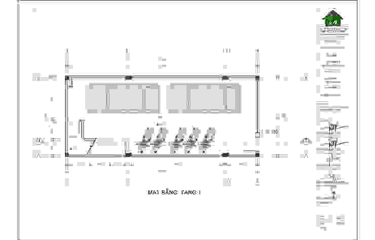 Linh House - Linh Đàm: hiện đại  by Công ty cổ phần kiến trúc và nội thất Tobehouse Việt Nam, Hiện đại