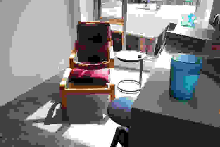 【住宅設計】和平東路 – 20坪清新居家風格 现代客厅設計點子、靈感 & 圖片 根據 大觀創境空間設計事務所 現代風