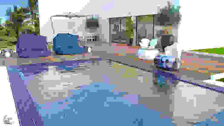Swimming pool por No Place Like Home ® Moderno