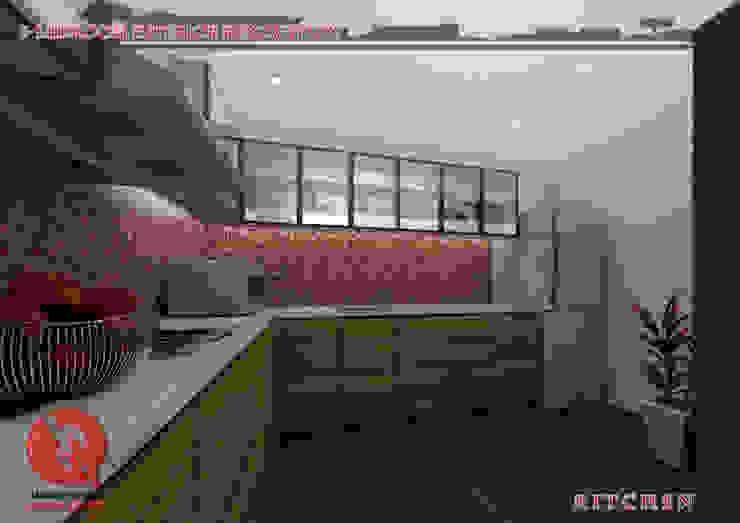 3-Bedroom Interior Design Garra + Punzal Architects Kitchen