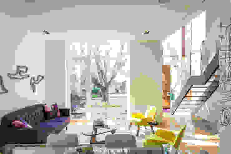 Salas de estilo moderno de Flynn Architect Moderno