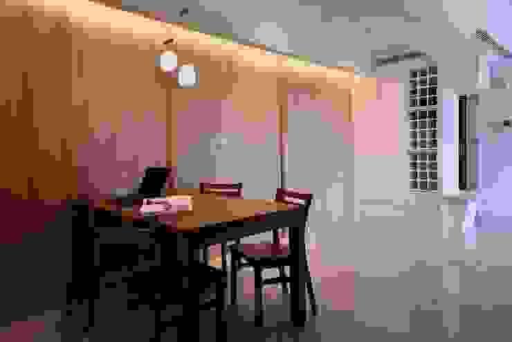 【住宅設計】桃園李公館 – 40坪現代簡約居家風 根據 大觀創境空間設計事務所 現代風