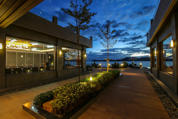 Two Seasons Coron Bayside Hotel by GDT Design Studio + Architects Modern