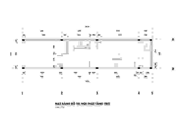 NHÀ PHỐ PLEIKU: hiện đại  by P.A.U Design , Hiện đại