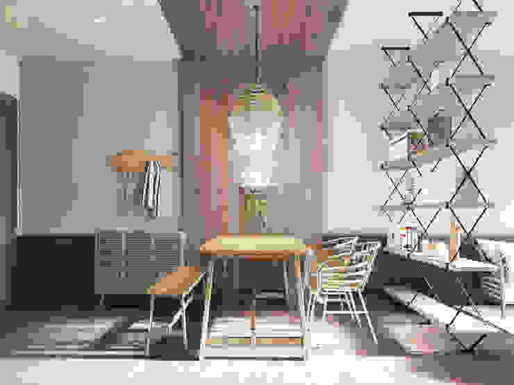 4S RIVERSIDE APARTMENT Phòng ăn phong cách hiện đại bởi P.A.U Design Hiện đại