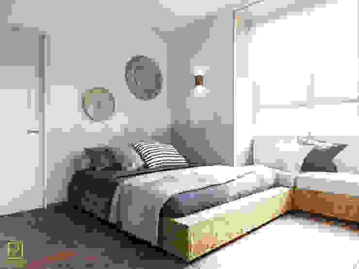 4S RIVERSIDE APARTMENT Phòng ngủ phong cách hiện đại bởi P.A.U Design Hiện đại