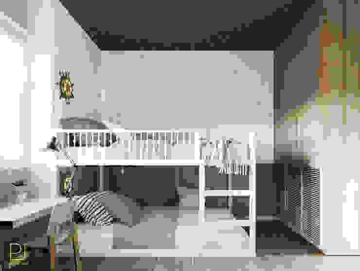 4S RIVERSIDE APARTMENT Phòng trẻ em phong cách hiện đại bởi P.A.U Design Hiện đại