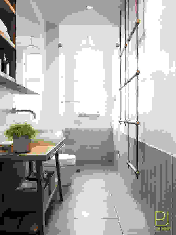4S RIVERSIDE APARTMENT Phòng tắm phong cách hiện đại bởi P.A.U Design Hiện đại