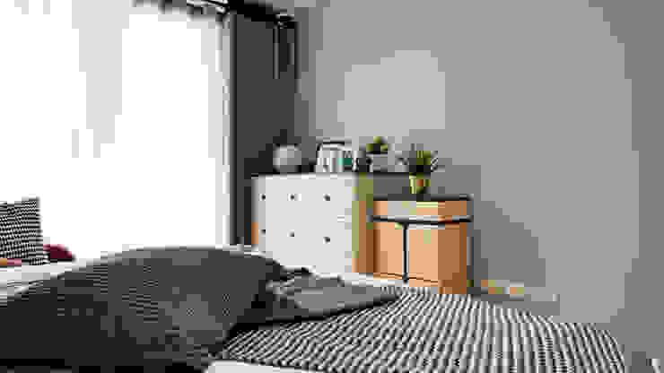 Scandinavische slaapkamers van 築本國際設計有限公司 Scandinavisch