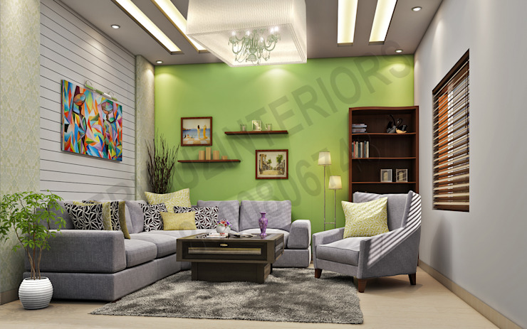 de Tribuz Interiors Pvt. Ltd. Moderno