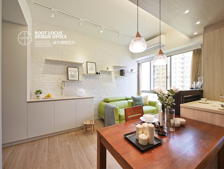 築本國際設計有限公司 Scandinavian style dining room