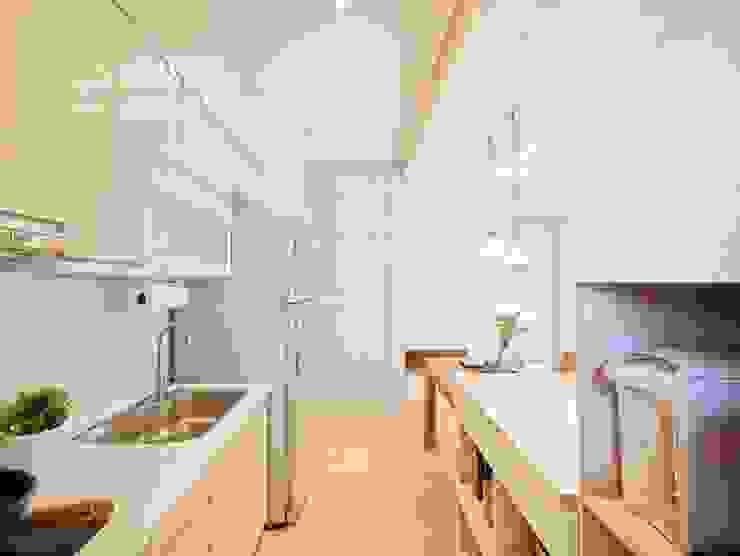 築本國際設計有限公司 Kitchen