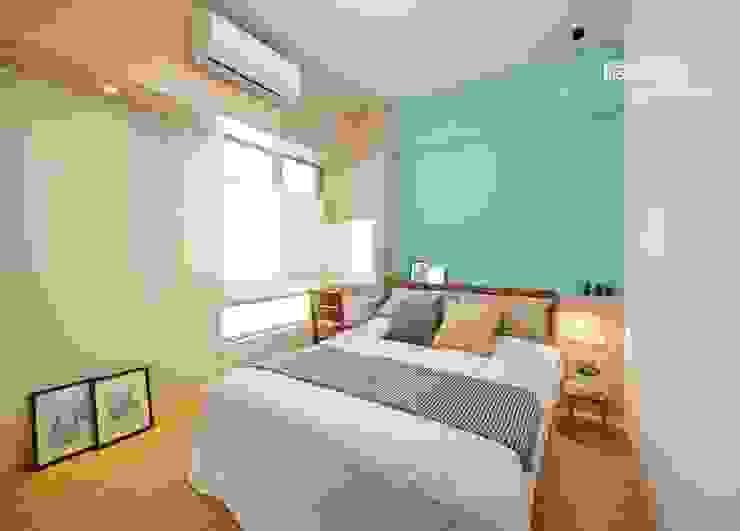 築本國際設計有限公司 Scandinavian style bedroom
