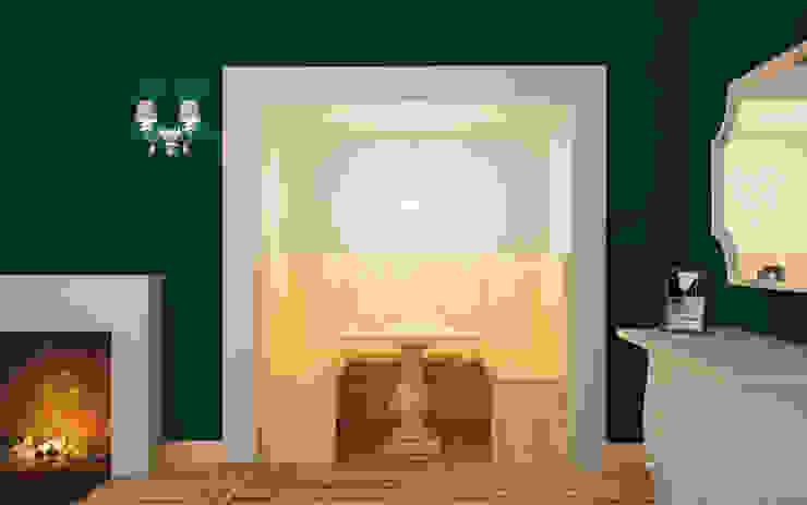 Nicchia per colazione: Sala da pranzo in stile  di Arch. Francesco Antoniazza - Il bello della casa ..................... di una volta