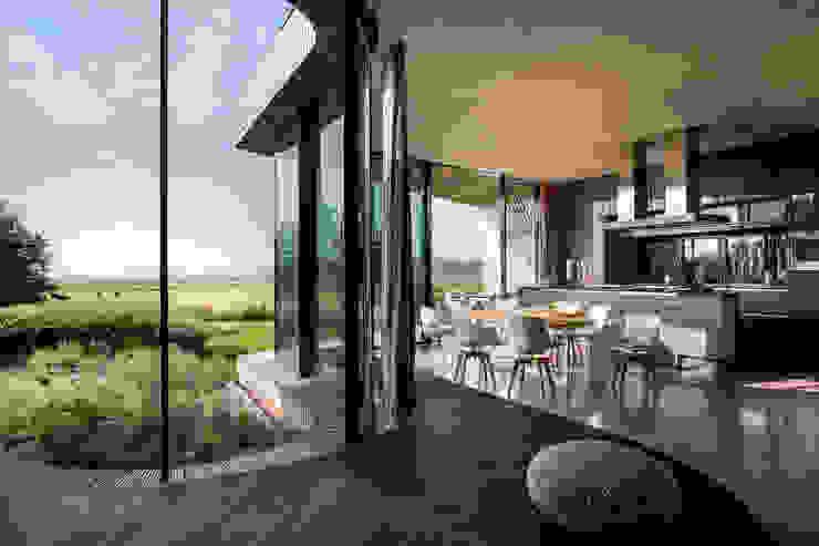 interieurontwerp woonkamer Moderne eetkamers van Yben Interieur en Projectdesign Modern