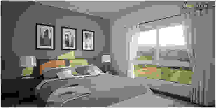 غرفة نوم تنفيذ áwaras arquitectos, كلاسيكي