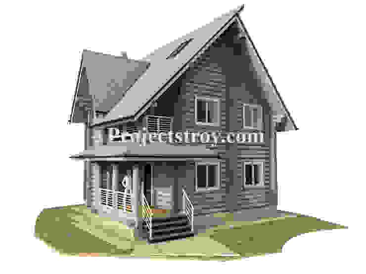 Проектирование дома из бревна: Деревянные дома в . Автор – Projectstroy,