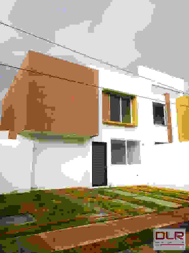 DLR ARQUITECTURA/ DLR DISEÑO EN MADERA บ้านเดี่ยว คอนกรีต Multicolored