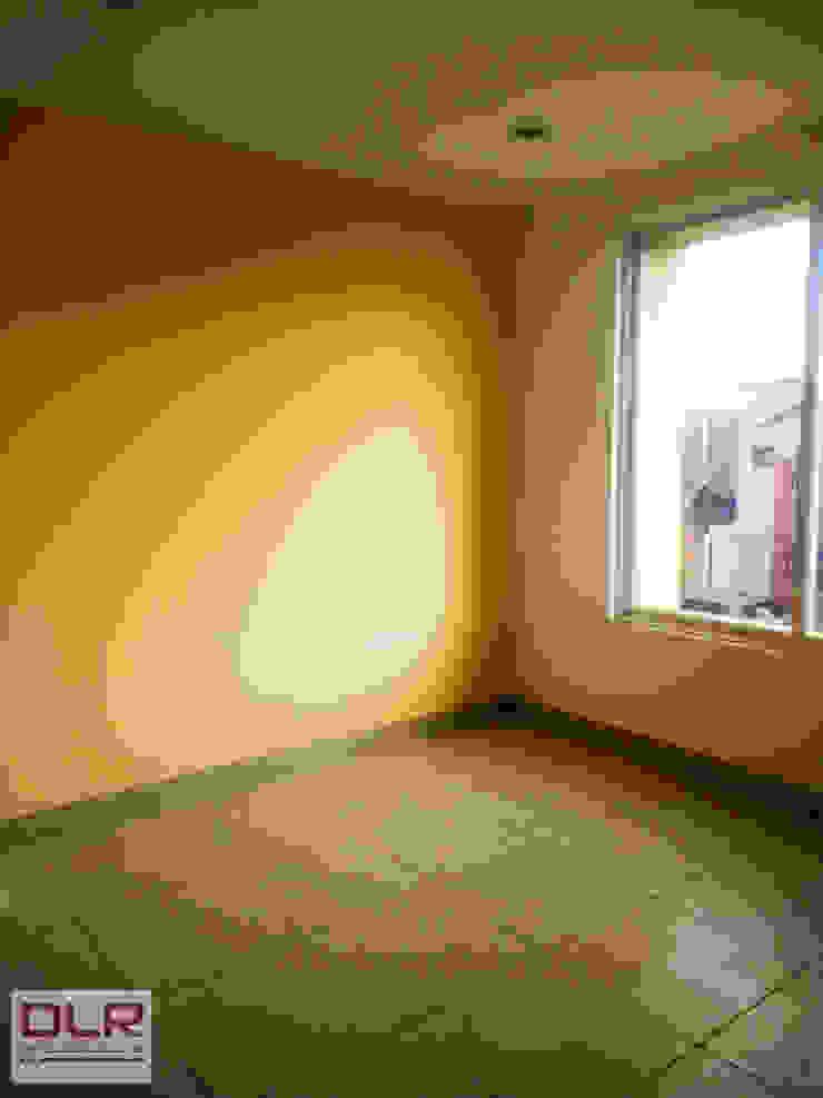 DLR ARQUITECTURA/ DLR DISEÑO EN MADERA ห้องนอน เซรามิค Yellow