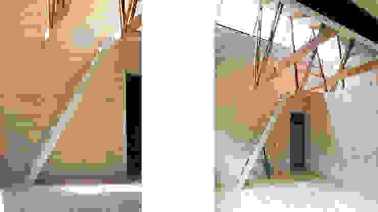 Cabaña de las Chimeneas de Luz 2712 / asociados Escaleras