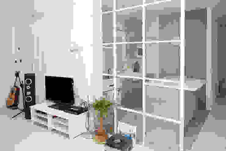 Salón 2 Salas de estilo escandinavo de Remake lab Escandinavo
