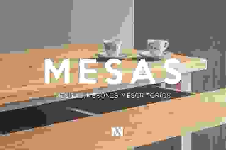 por Mon Estudio Moderno Madeira maciça Multicolor