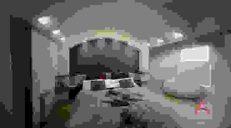 DORMITORIOS Aida tropeano& Asociados Dormitorios modernos: Ideas, imágenes y decoración Morado/Violeta