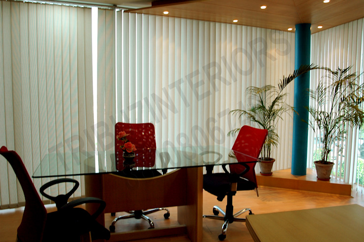 Office by Tribuz Interiors Pvt. Ltd.