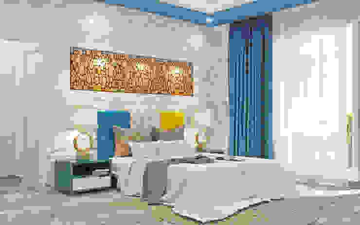 Saket Modern style bedroom by Tribuz Interiors Pvt. Ltd. Modern