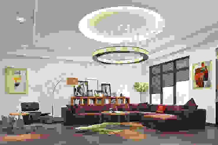 South City Modern living room by Tribuz Interiors Pvt. Ltd. Modern