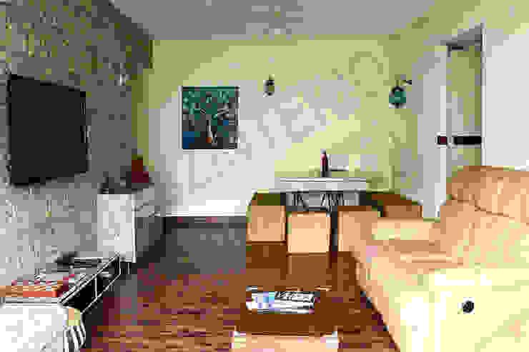 Heritage Modern living room by Tribuz Interiors Pvt. Ltd. Modern