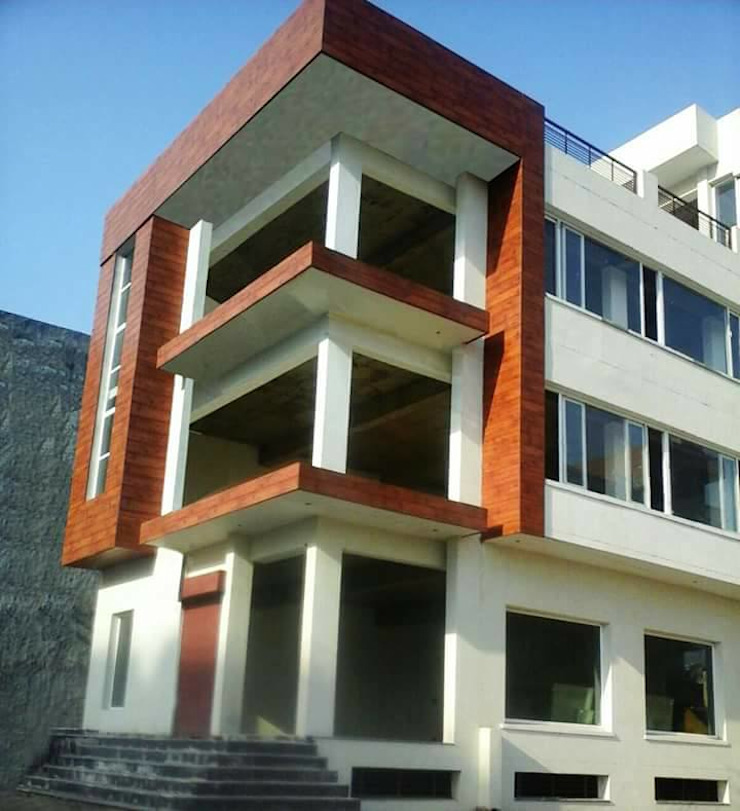 RESIDENTIALS Modern style doors by ARCHITECTS KT INDIA GROUP Modern