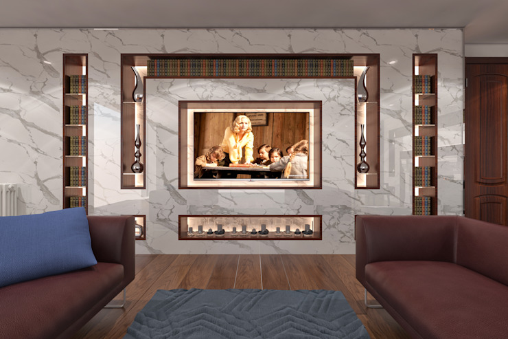 AKSESUAR DESIGN Living roomTV stands & cabinets Porselen