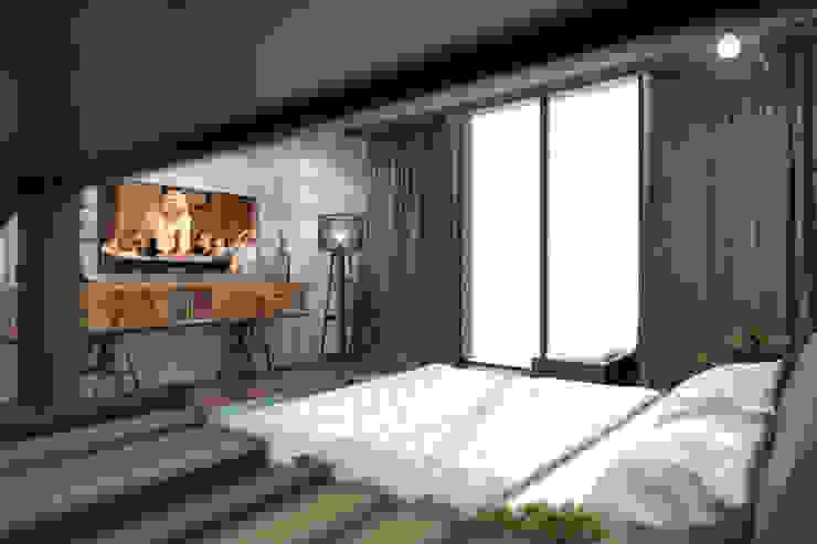 AKSESUAR DESIGN BedroomBeds & headboards Kayu