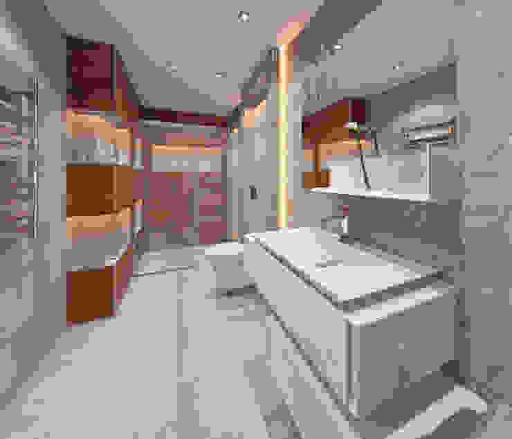 AKSESUAR DESIGN BathroomBathtubs & showers Porselen