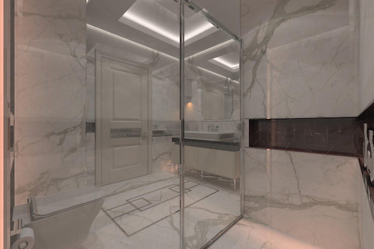 AKSESUAR DESIGN BathroomDecoration Porselen