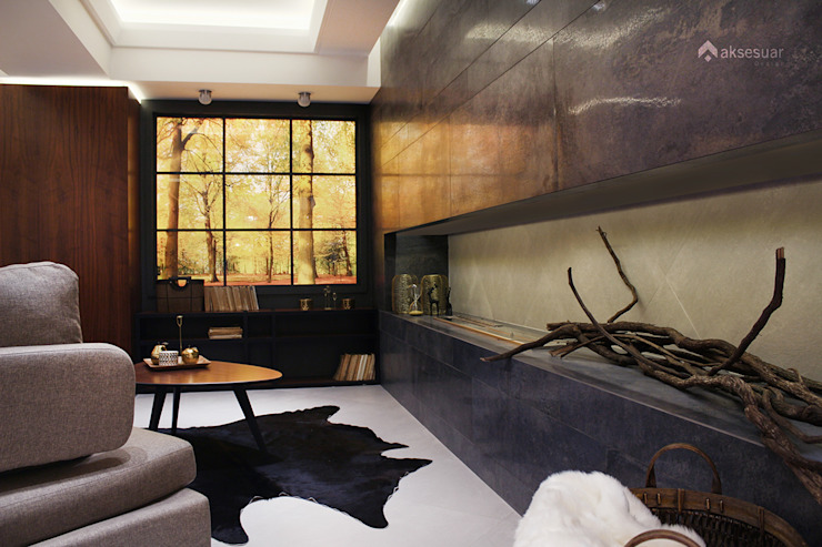 AKSESUAR DESIGN Living roomFireplaces & accessories Keramik