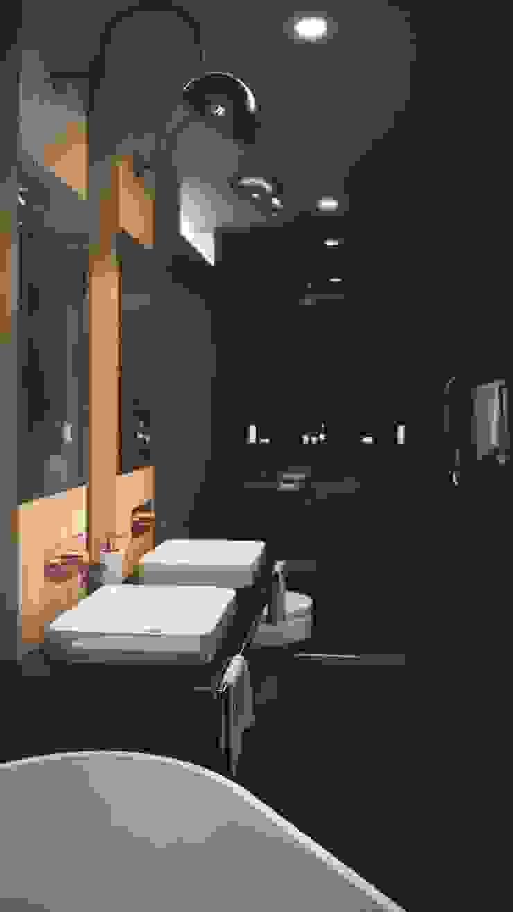 BAÑO CASA VEGA Baños de estilo moderno de Adrede Diseño Moderno