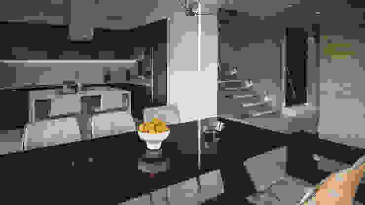 cocina casa vega Cocinas de estilo moderno de Adrede Diseño Moderno
