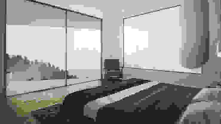 habitacion principal Habitaciones modernas de Adrede Diseño Moderno