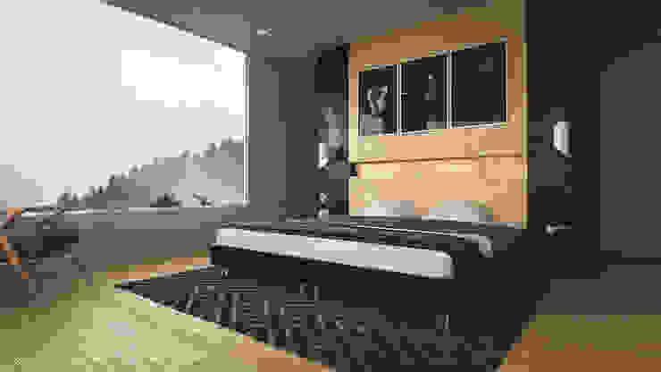 Dormitorios de estilo moderno de Adrede Diseño Moderno