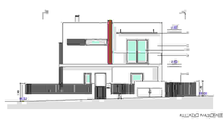 منزل عائلي كبير تنفيذ Teresa Ledo, arquiteta
