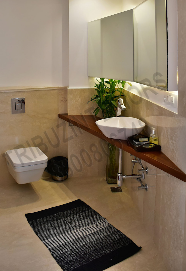 Heritage City Classic style bathroom by Tribuz Interiors Pvt. Ltd. Classic