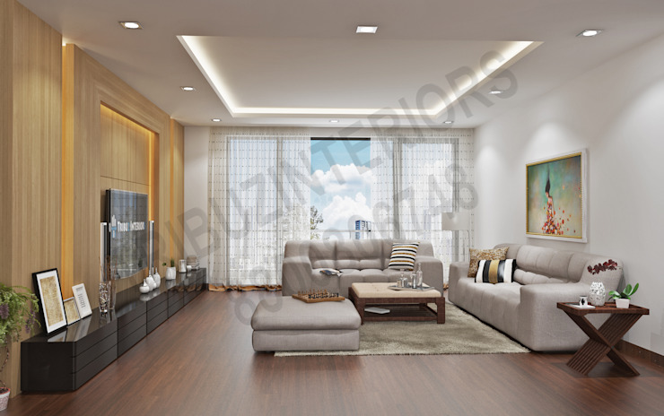 by Tribuz Interiors Pvt. Ltd. Modern