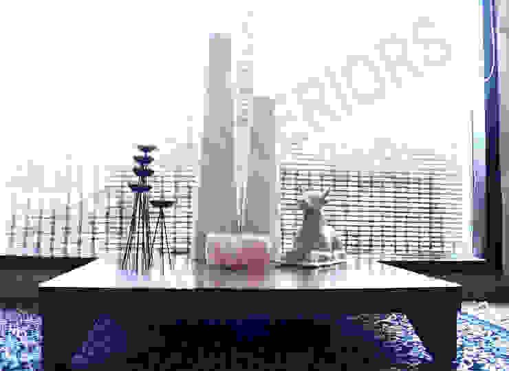 Heritage City 2 Modern dining room by Tribuz Interiors Pvt. Ltd. Modern